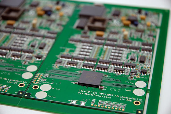 کیفیت خوب RoHS Lead Free Control Board Surface Mount Pcb Assembly BGA 2.4mm PCB Service تامین کننده